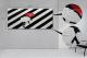Dipinto a strisce Z455