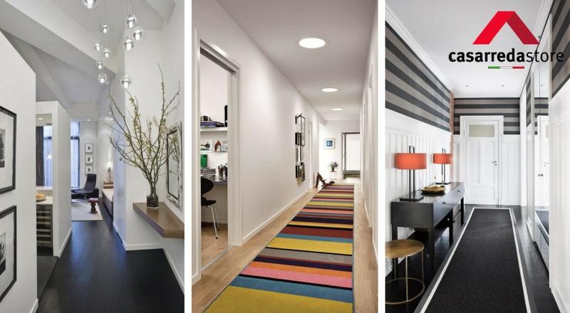 Illuminazione Di Un Corridoio : Come arredare il corridoio tante idee originali casarreda
