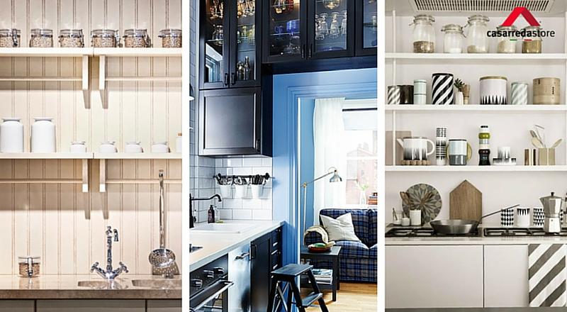 Come arredare una cucina piccola: 8+1 regole salva-spazio ...